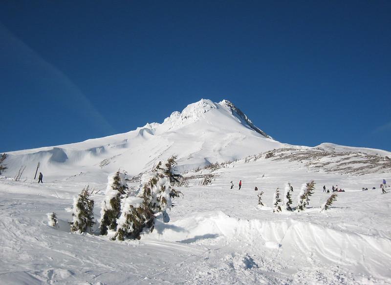 Mt. Hood Meadows Skiing in Oregon