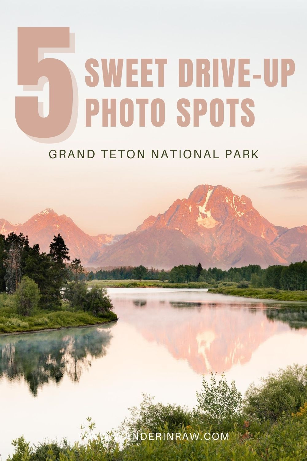 Grand Teton National Park, Tetons, Jackson Hole, Wyoming, Mormon Row, Morton Barn, Snake River Overlook, Oxbow Bend, Signal Mountain, Schwabacher's Landing