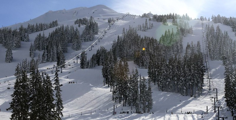 Mt. Bachelor Ski Area in Oregon