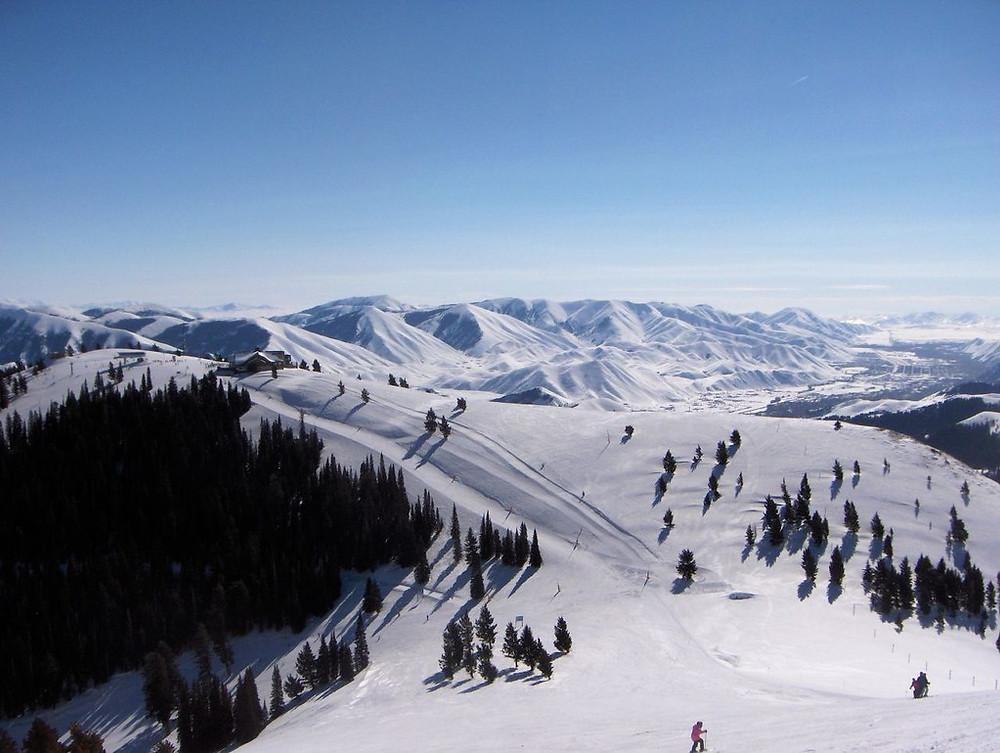 Sun Valley Idaho Ski Area
