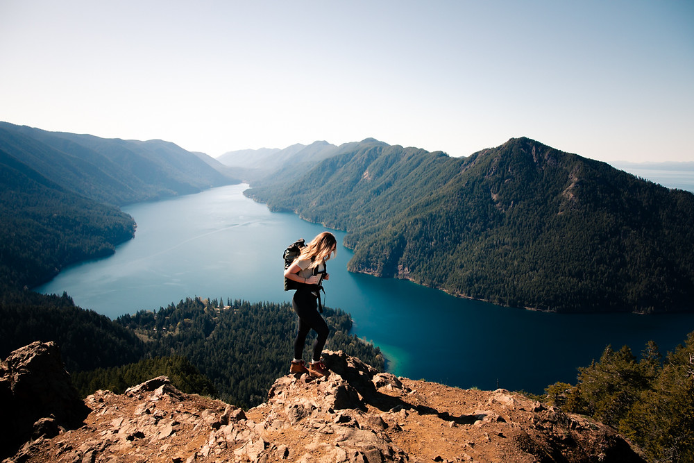 Mt. Storm King and Wandred Backpack in Olympic National Park.