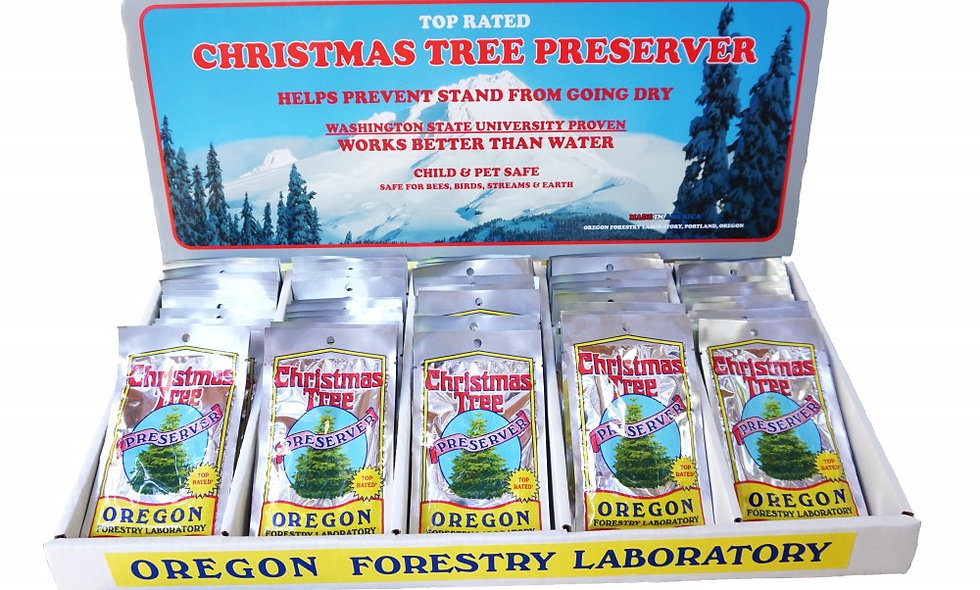 Oregon Forestry Tree Preservative