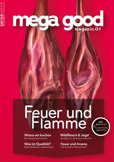 Cover - mega good magazin.01 Hannah und