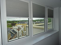 Frame Fit pleated blind