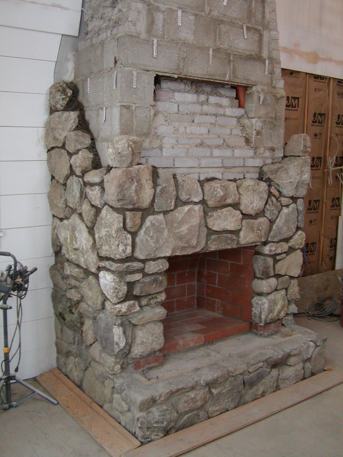 Spencetown fireplace