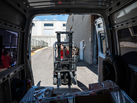 Centro logístico Cruz Roja
