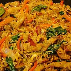 Thai Fried Rice Plate