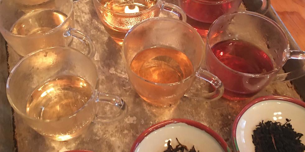 Tea Tasting...11/9/19 Black Teas Flavorful & Healthy...
