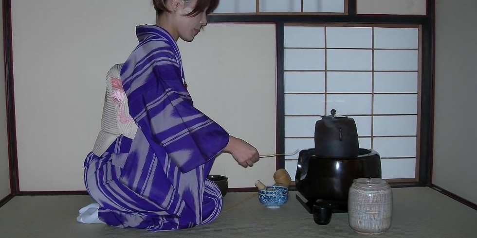 Tea Tasting...Teas of Japan