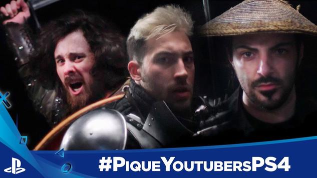 #PiqueYoutubersPS4