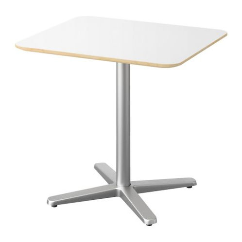 low white conference table RENTAL