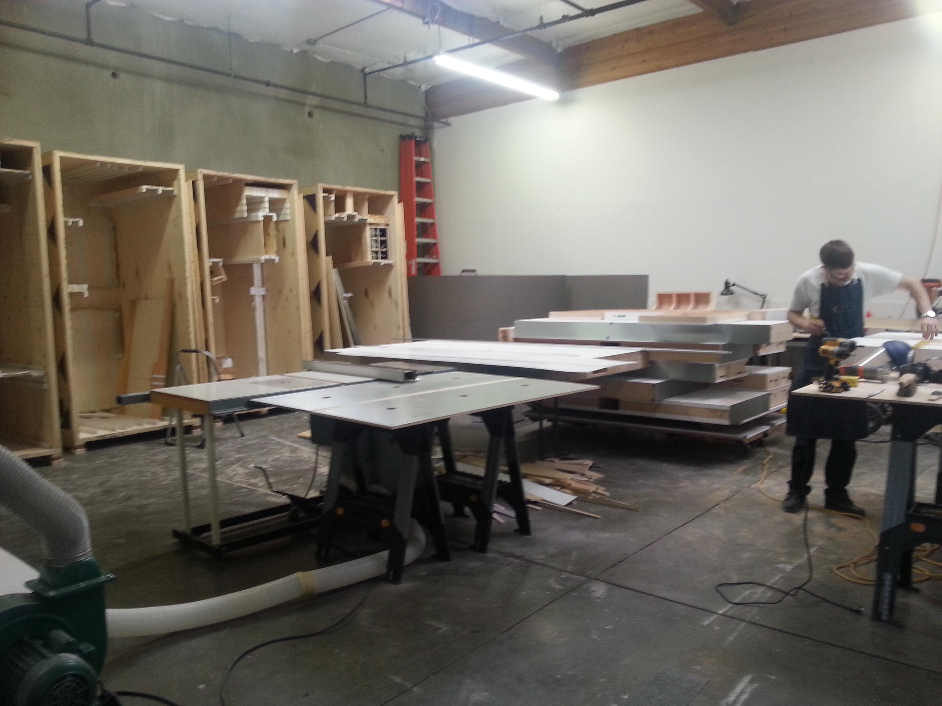 area exhibits workshop