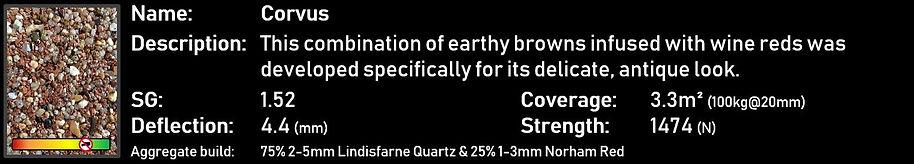 Corvus - StarScape ULTRA Resin Bound Aggregate Blend