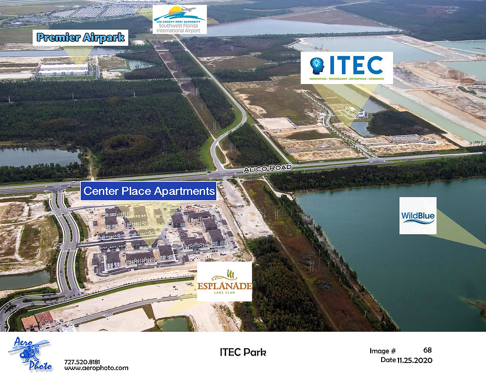 My ITEC Place located at Alico ITEC Park