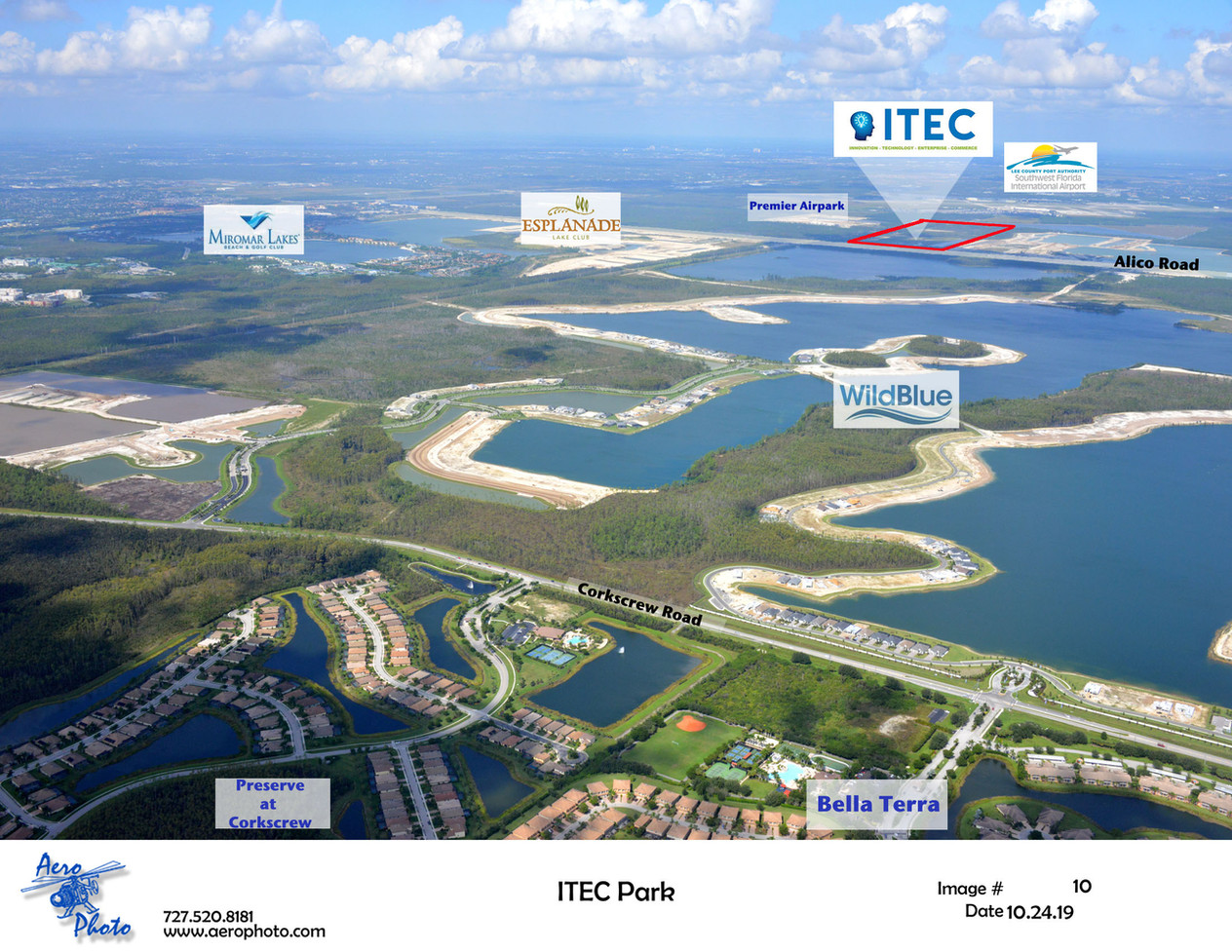 Alico ITEC aerial from the south