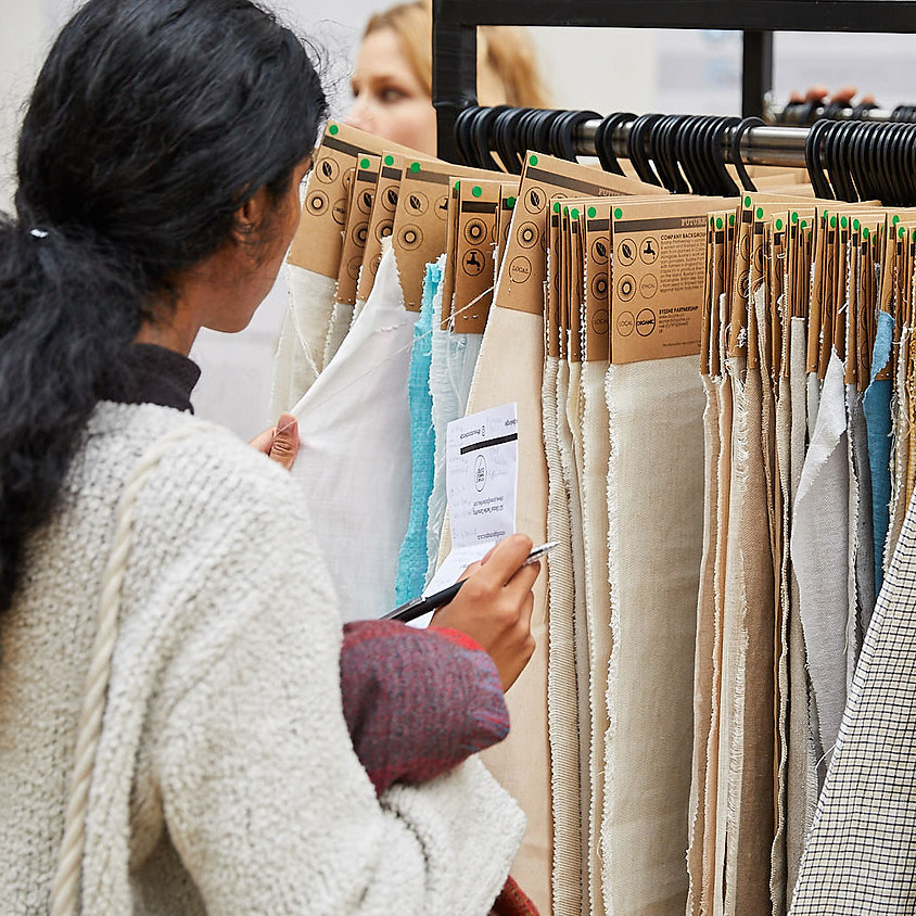 THE SUSTAINABLE ANGLE: Sustainable materials sourcing open studio