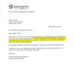 Bank responds