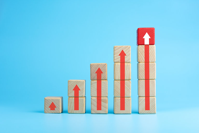 Ladder of success in business growth con