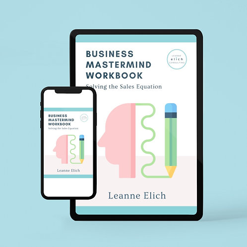 Business Mastermind Workbook - Digital