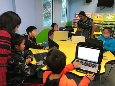 One Hour Code at Olive Children WS