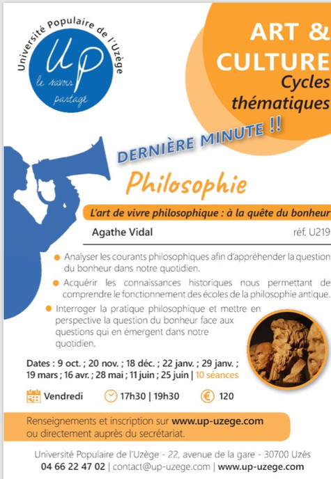 Cycle philosophie