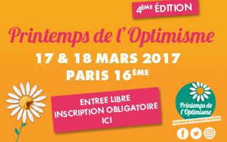 Agathe Vidal au salon de l'optimisme