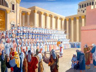 הלל במקדש