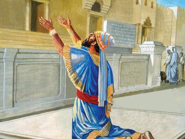 גוי במקדש