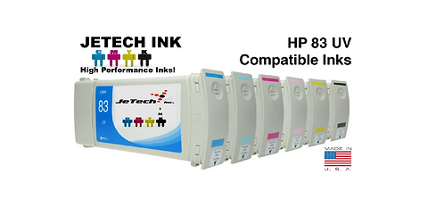 HP83 680ml UV Ink Cartridge SET (C49XXA Series)