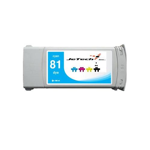 HP81 680ml Dye Ink Cartridge (C49XXA Series)