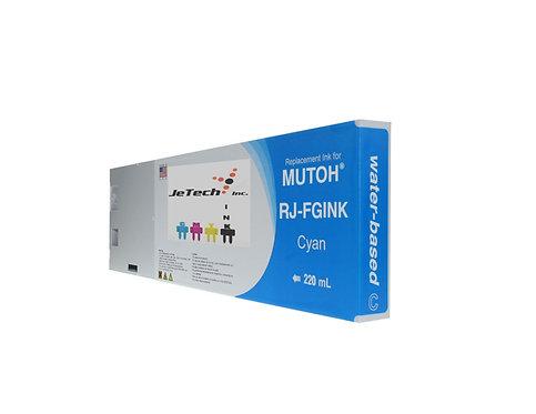 Mutoh Water Based Compatible 220ml Ink Cartridge (RJ-FGINK)