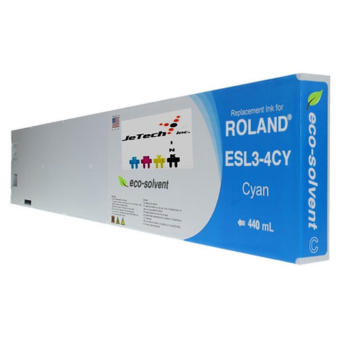 Roland ESL3-4 Eco-Sol Max® 440ml Ink Cartridge