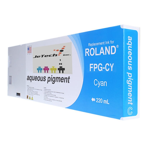Roland Aqueous Pigment 220ml Ink Cartridge FPG series