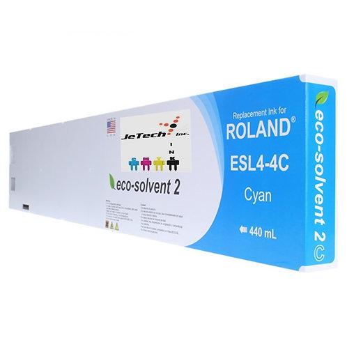 Roland ESL4-4 Eco-Sol Max2® 440ml Ink Cartridge