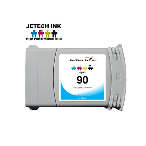 HP90 400ml Dye Ink Cartridge SET C50 Series