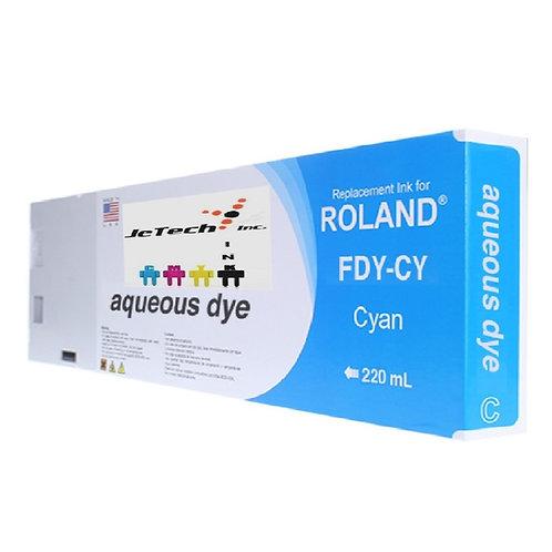 Roland Aqueous Dye 220ml Ink Cartridge FDY series