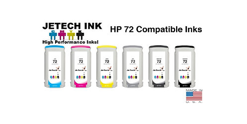 HP72 130ml Dye Ink Cartridge SET (C93XXA Series)