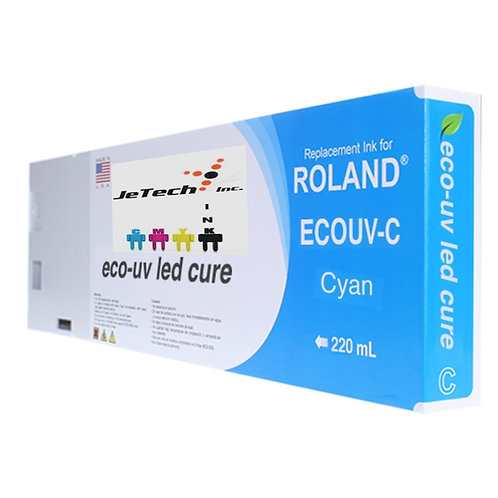 Roland Eco UV 220ml Ink Cartridge EUV series