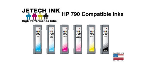 HP790 1L Low Solvent Ink Cartridge SET CB271A Series