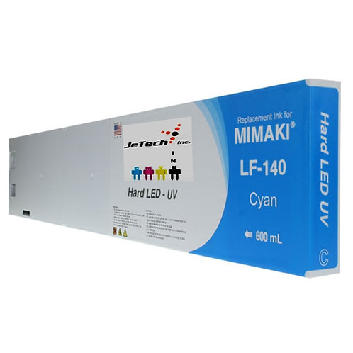 Mimaki LF-140 UV LED 600ml Ink Cartridge SPC-0727 Series