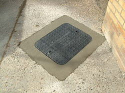 manhole lid and frame replacement service