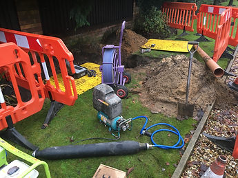 Drainage repairs Longridge Preston