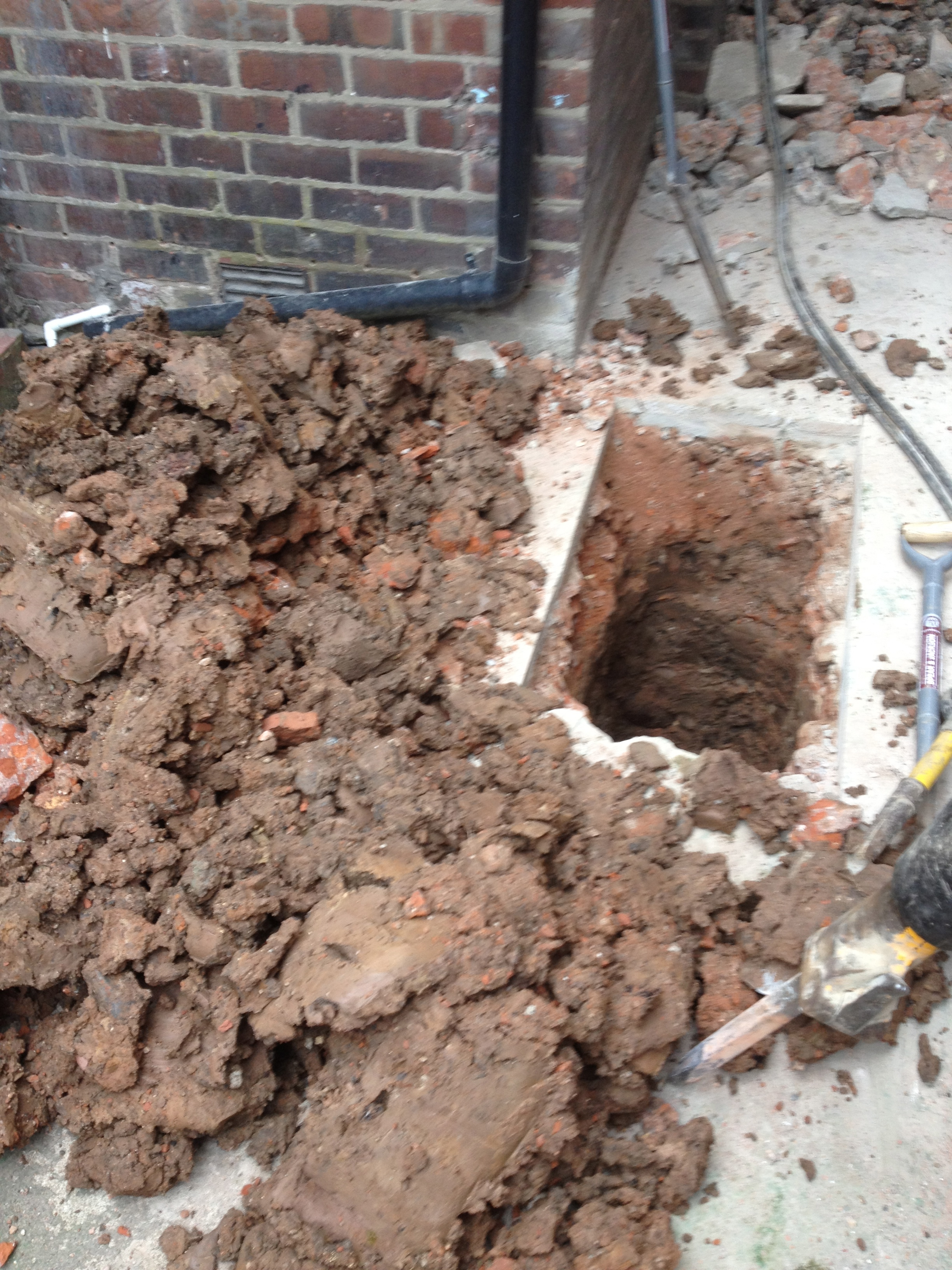 Drainage repair in Preston
