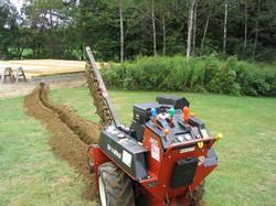 Garden Drainage installation