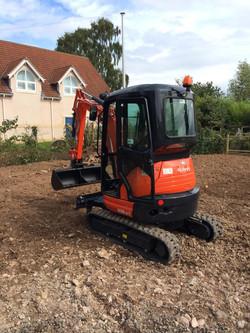 Excavator Hire Blackpool & Fylde