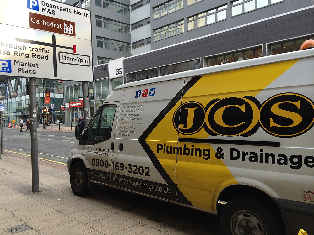 JCS Drainage Manchester, Not only clearing blocked drains in Blackpool.