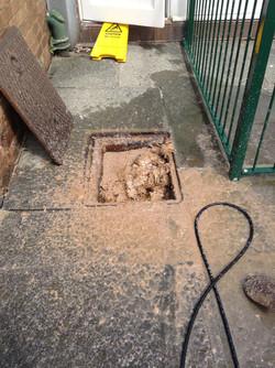 Blocked drainage system Preston