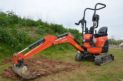 Micro Digger Hire in Blackpool