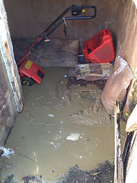 Blocked drain in Blackpool