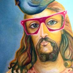Melchizedek with Bird